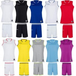 Ensemble pack maillot + short basket Move Spalding