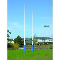 But de rugby en acier galvanisé (la paire)
