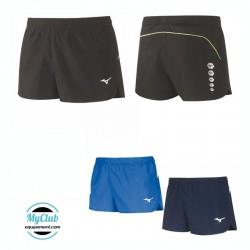 Short court running femme mizuno Premium Jpn Split
