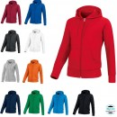 Equipement Club-Sweat capuche ZIP TEAM FEMME  Jako