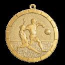 Médailles Foot Or, Argent, Bronze 50mm