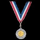 Médailles Foot Or, Argent, Bronze 32mm