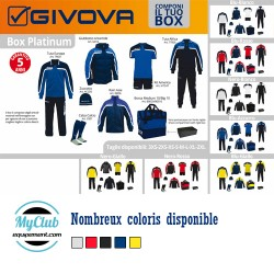 Pack club de foot Givova Premium