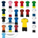 Kit jeu de maillot + short revolution Givova