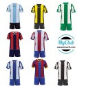 Kit jeu de maillots et shorts catalano adulte Givova
