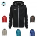Sweat  Hummel Poly Zip Hoodie Polyester Hmlauthentic