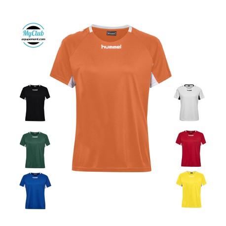 Maillot Hummel Femme Core Team Jersey S/S Polyester