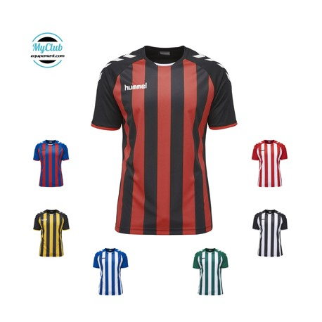 Maillot Hummel Core Striped Ss Jersey Polyester