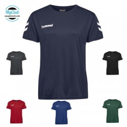 Maillot Hummel  Femme Core Poly Tee S/S Polyester