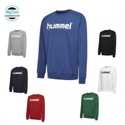 Sweatshirt Cotton Hummel Hmlgo Logo Polyester