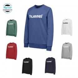 Sweatshirt  Cotton  Hummel Femme Hmlgo Logo Polyester