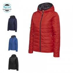 Veste Hummel Femme Hmlnorth Quilted Hood Jacket Polyester