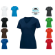 Equipement Club-T-shirt-col-v classic TEAM femme Jako