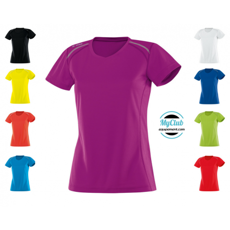 Equipement Club-T-shirt run femme Jako
