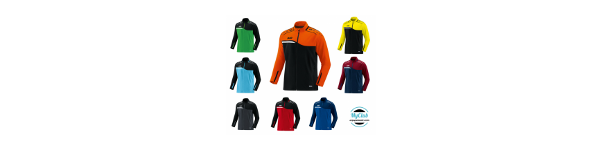 Veste de survetement club de badminton