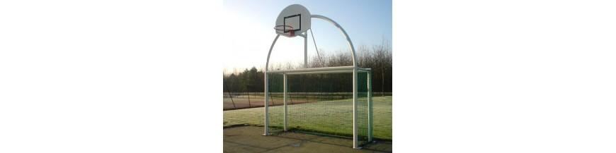Equipement terrain de basket