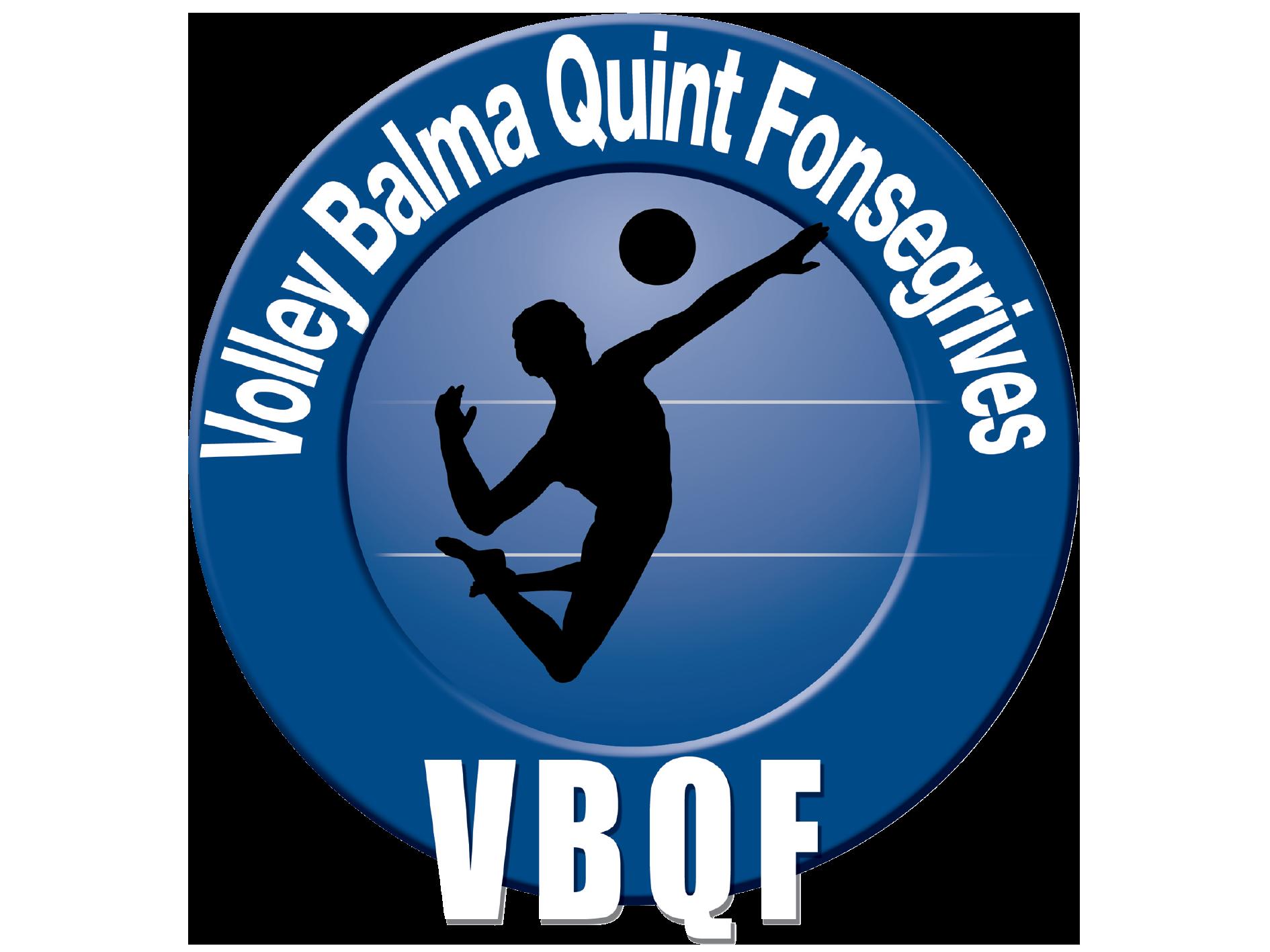Equipement sportif personnalisé club de volley VBQF