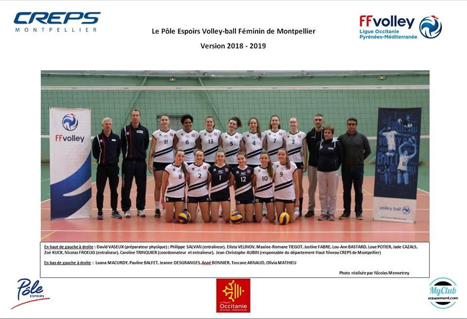Equipement sportif volley pour club - pole espoir occitanie