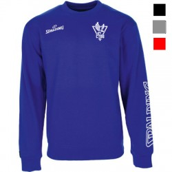 SWEAT COL ROND TEAM II CREWNECK SPALDING