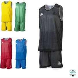 Equipement Club-Kit Maillot + Short Réversibles Basket PEAK