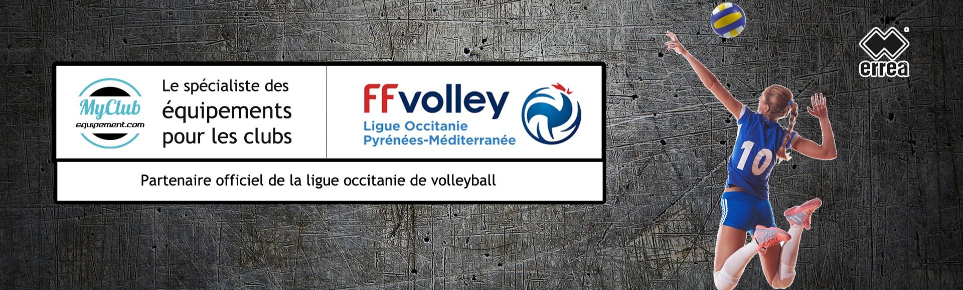 Ligue de volley partenaire equipement