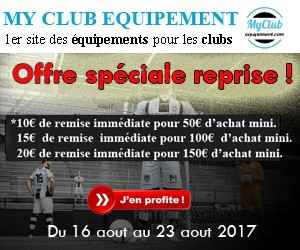 Equipement, survetement, maillot  club de foot, volley, basket, rugby - Promotion