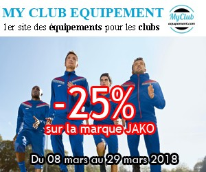 Equipement sportif personnalise jako flocage club