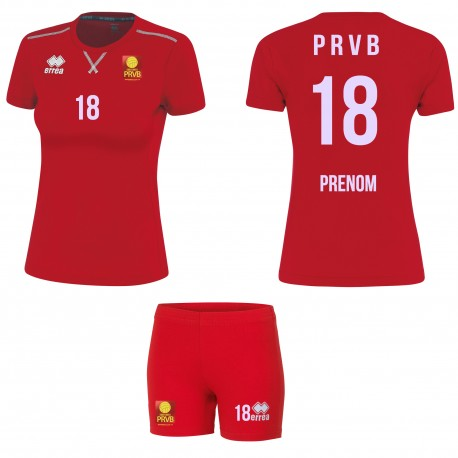 PACK MAILLOT MARION + SHORTY VOLLEYBALL ERREA
